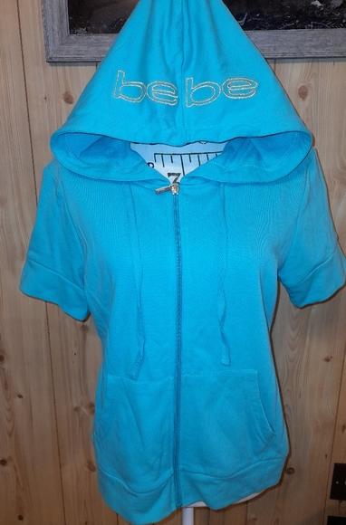 Bebe short sleeve hoodie